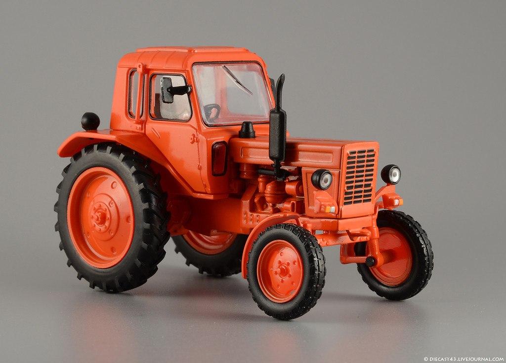 Модель трактора мтз-80 своими руками